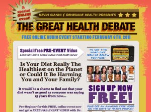 The Great Health Debate
