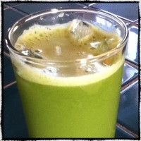 Green Juice-Apple, Cucumber, Celery, Lime, Ginger