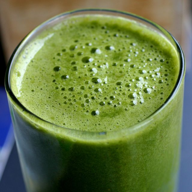 Green Smoothie of the Day • The Healthy Eating Site