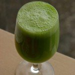 Delicious, nutritious, green smoothie