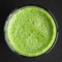 Green Juice: Pineapple, cucumber, chard, wild greens.