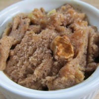 Raw Vegan Ice Cream: Banana Maple Walnut