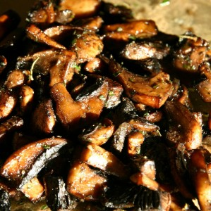 Raw Diet Recipes: Marinated Portobello Mushrooms