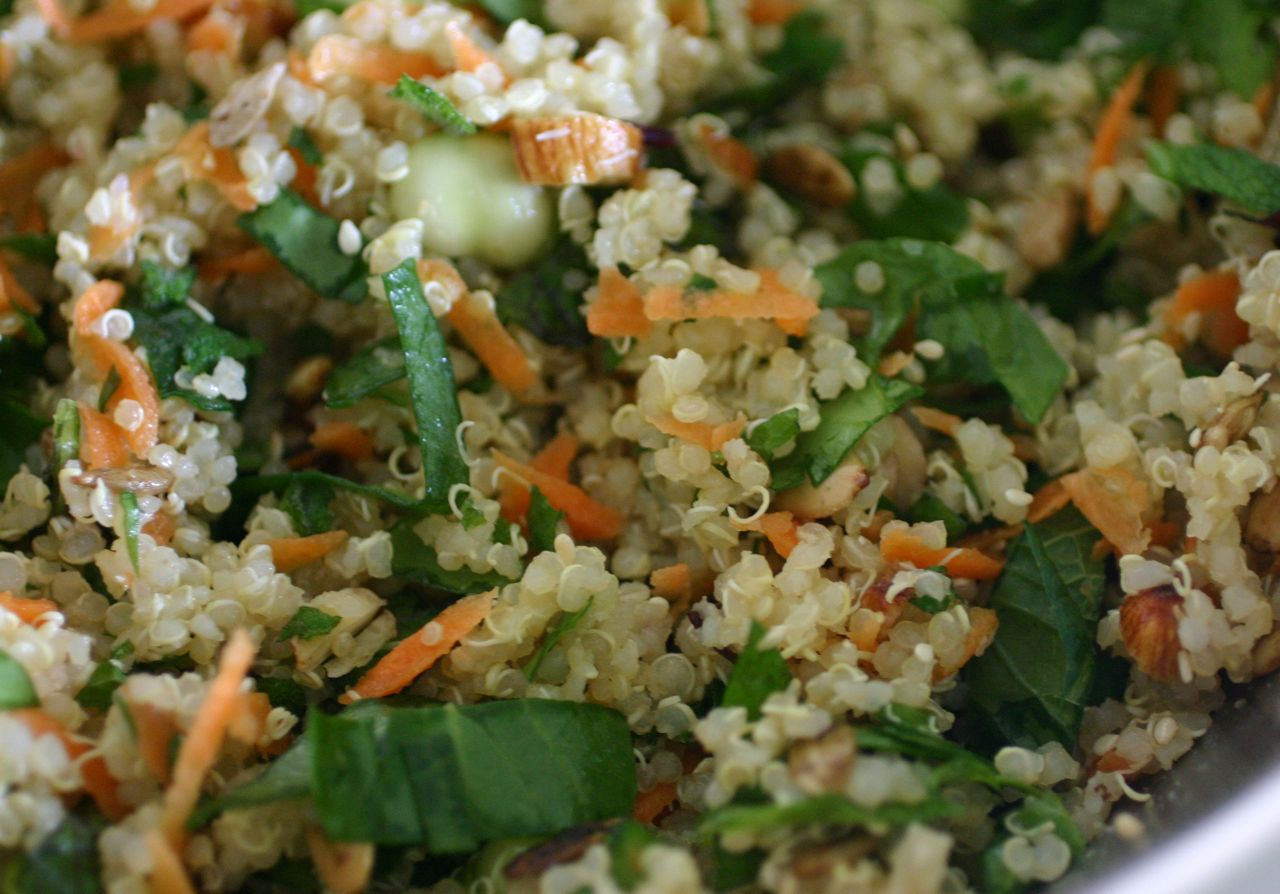 Quinoa Salad • The Healthy Eating Site