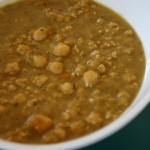Splitpea & Chickpea Soup