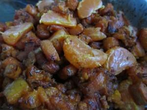 Roasted Sweet Potato with Rosemary and Orange
