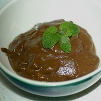Raw Vegan Carob Mousse