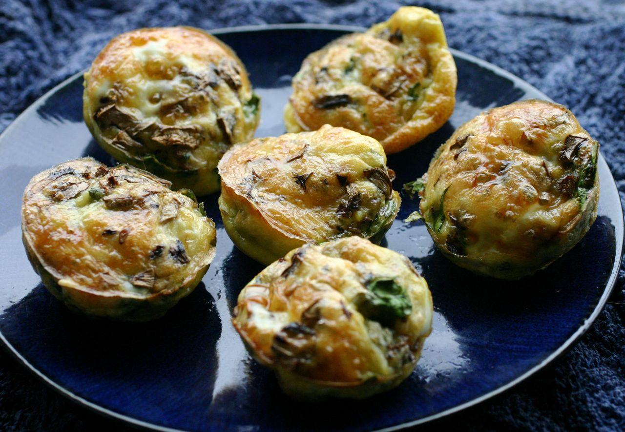 Egg muffin recipe feta