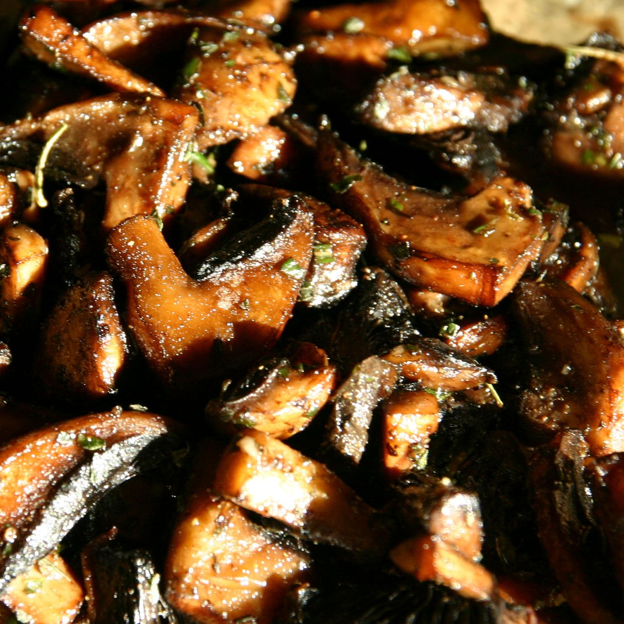 Marinated Portobello Mushrooms The Healthy Eating Site