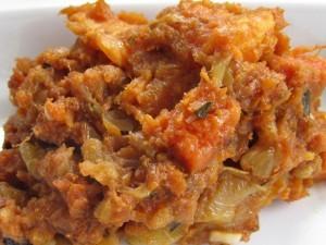 Roasted Sweet Potato with Rosemary & Orange ready to eat